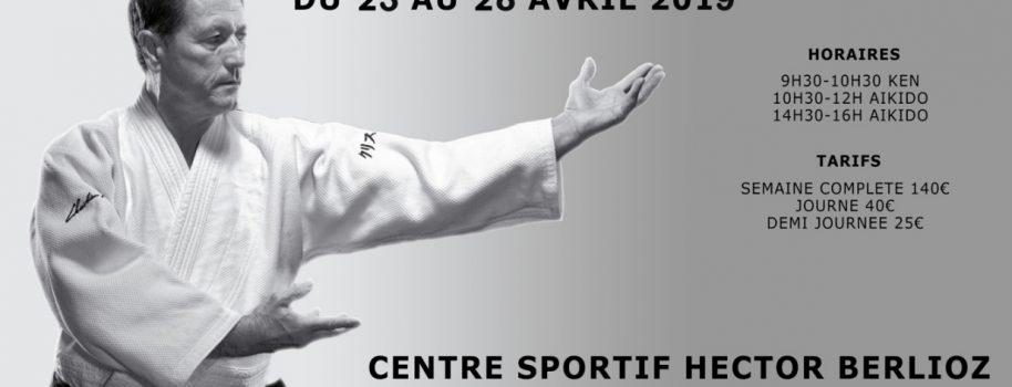 Staż Wielkanocny z Christian Tissier. Vincennes, Francja 23.04 – 28.04.2019